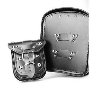 Kožená kapsička pro kufr na motorku RSA-1B