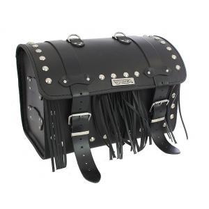 Kožený moto kufr na motorku Chopper RSA-1C