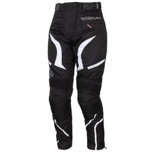 Moto kalhoty RSA Devil dámské bílé