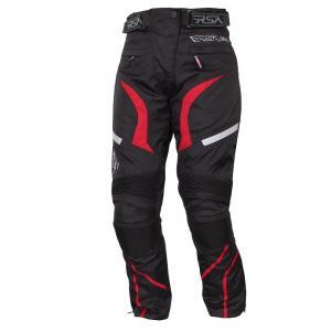 Moto kalhoty RSA Devil dámské červené