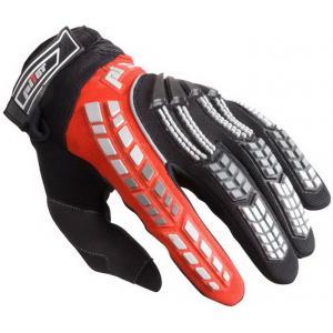 MX rukavice na motorku Pilot černo/červené