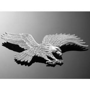 Nalepovací emblém Highway Hawk, chrom výprodej