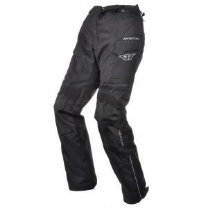 Prodloužené kalhoty na motorku Ayrton Rally černé výprodej