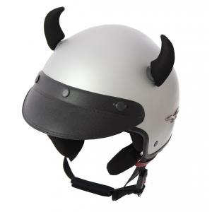 Uši na helmu Růžky černé