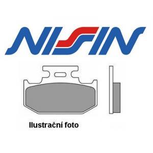 Brzdové destičky přední Nissin 2p311 ST výprodej