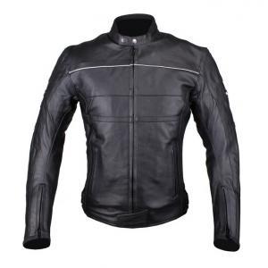 Bunda na motorku Tschul 837 černá