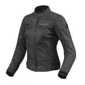 Dámská bunda na motorku Revit Eclipse černá