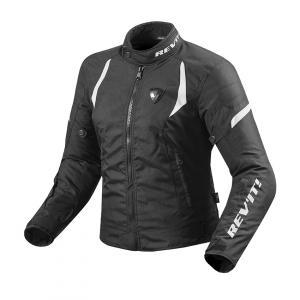 Dámská bunda na motorku Revit Jupiter 2 černo-bílá výprodej