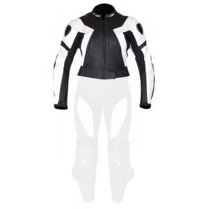 Dámská bunda Tschul 736 černo-bílá