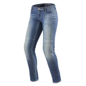 Dámské jeansy na motorku Revit Westwood SF modré výprodej
