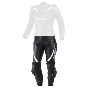Dámské kalhoty na motorku RSA Destiny 2 černo-bílé