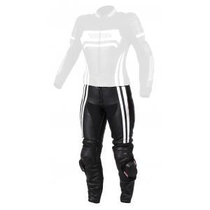 Dámské kalhoty na motorku RSA Virus černo-bílé výprodej