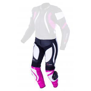 Dámské kalhoty Tschul 546 černo-bílo-růžové