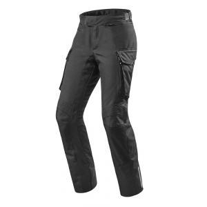 Kalhoty na motorku Revit Outback černé výprodej