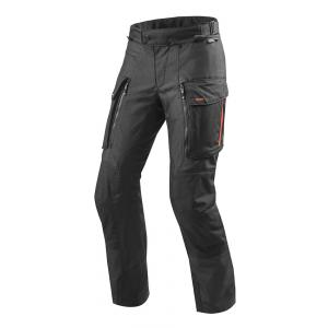 Kalhoty na motorku Revit Sand 3 černé zkrácené výprodej