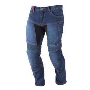 Kevlarové jeansy na motorku Ayrton 505 modré