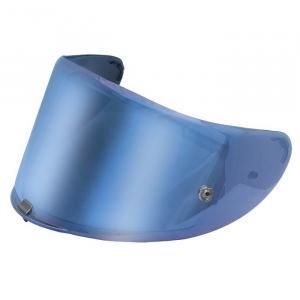 Modře iridiové plexi pro přilbu LS2 FF323