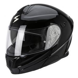 Moto přilba vyklopná Scorpion EXO-920 černá lesklá