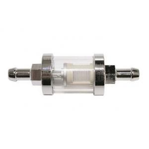 Palivový filtr chromový 8 mm