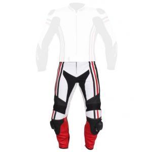 Pánské kalhoty Tschul 555 bílo-černo-červená