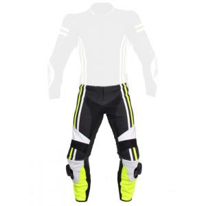 Pánské kalhoty Tschul 555 černo-bílo-fluo žluté