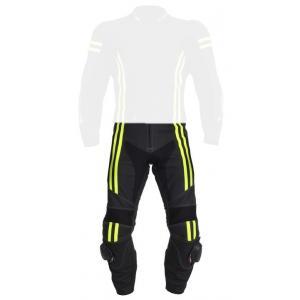 Pánské kalhoty Tschul 555 černo-fluo žluté