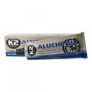 Pasta na čištění a leštění kovových povrchů K2 ALUCHROM 120g