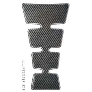 Polep palivové nádrže Print - Maxi Gold carbon