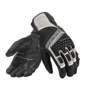 Rukavice na motorku Revit Sand 3 černo-stříbrné výprodej