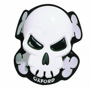Slidery Oxford Skull bílé