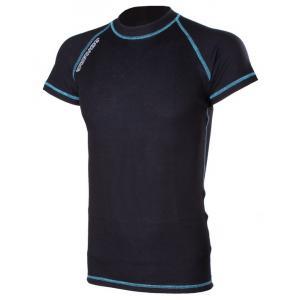 Termo triko RSA Heat černo-modré krátký rukáv