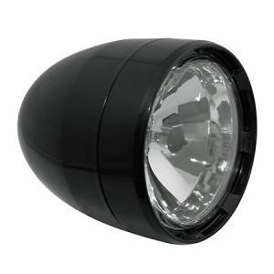 Universální přední světlo s parkovacím světlem Shin-Yo černé