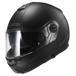 Vyklápěcí přilba na motorku LS2 FF325 Strobe černá matná