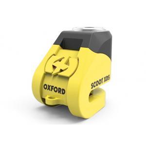 Zámek kotoučové brzdy Oxford Scoot XD5 - žluto/černý
