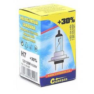 Žárovka 12V H7 55W +30%