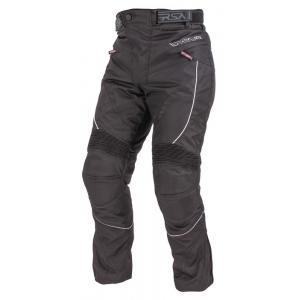 Zkrácené kalhoty na motorku RSA Devil pánské černé