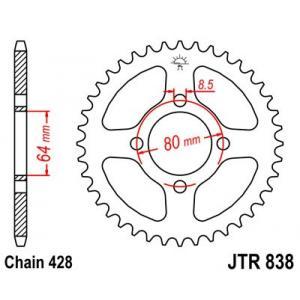 Řetězová rozeta JT JTR 838-35 35 zubů, 428