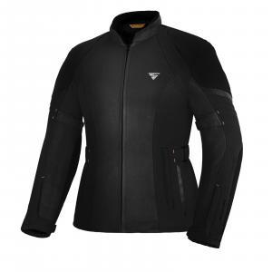 Dámská bunda na motorku Shima Jet černá výprodej
