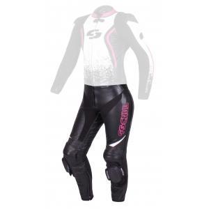 Dámské kalhoty Tschul 586 černo-bílo-růžové