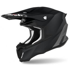 Motokrosová přilba Airoh Twist Color černá matná