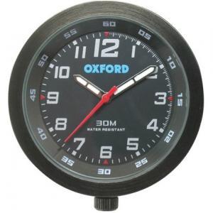 Analogové hodiny Oxford černé