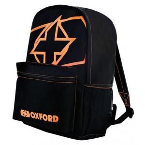 Batoh Oxford X-Rider černo-fluo oranžový