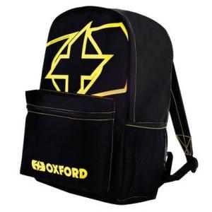 Batoh Oxford X-Rider černo-fluo žlutý