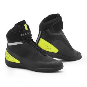 Boty na motorku Revit Mission černo-neonově žluté výprodej