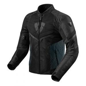 Bunda na motorku Revit Arc Air černá výprodej