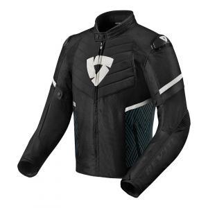Bunda na motorku Revit Arc H2O černo-bílá výprodej