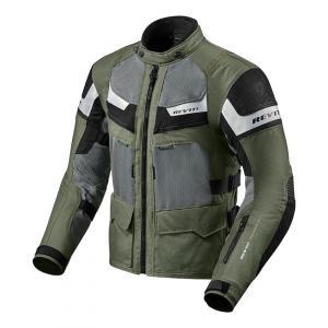 Bunda na motorku Revit Cayenne Pro zeleno-černá výprodej