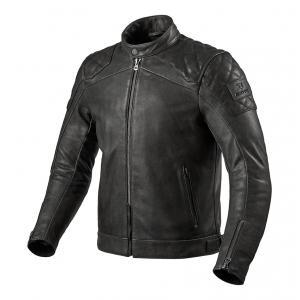 Bunda na motorku Revit Cordite černá