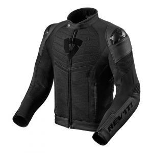 Bunda na motorku Revit Mantis černá výprodej