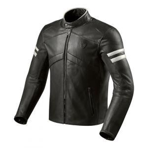 Bunda na motorku Revit Prometheus černo-bílá výprodej